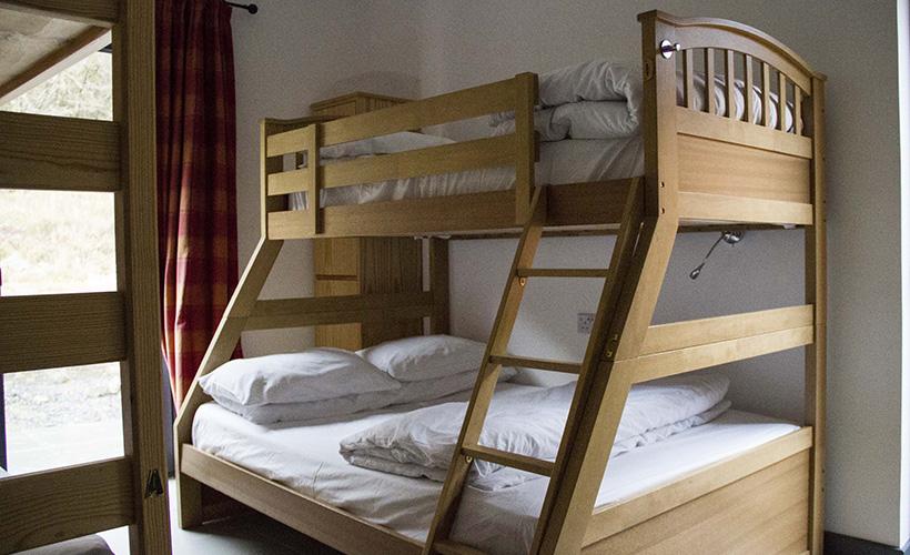 Craignure Bunkhouse, Isle of Mull, Accommodation, Bedroom