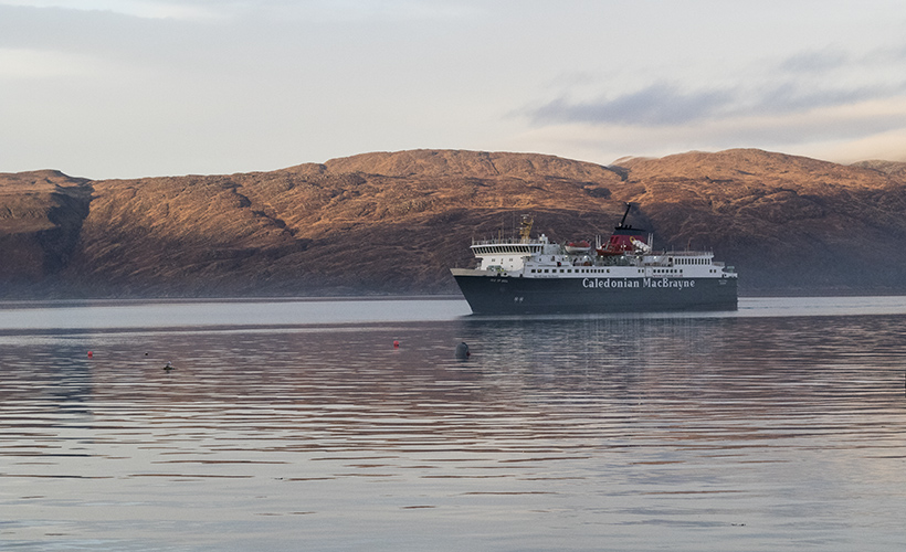 craignure bunkhouse mull ferry calmac travelling to mull