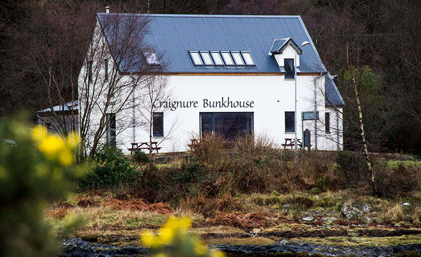 Craignure Bunkhouse, Isle of Mull, Location